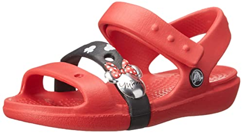8f65b4943 crocs Girl s Keeley Minnie Fashion Sandals  Buy Online at Low Prices ...