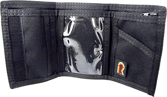 Slipknot Camo Hook /& Loop Closure Nylon Tri-Fold Wallet