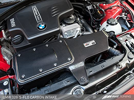 Amazon.com: AWE Tuning 2660-13034 BMW 228i/328i/428i S-FLO Carbon Intake System: Automotive