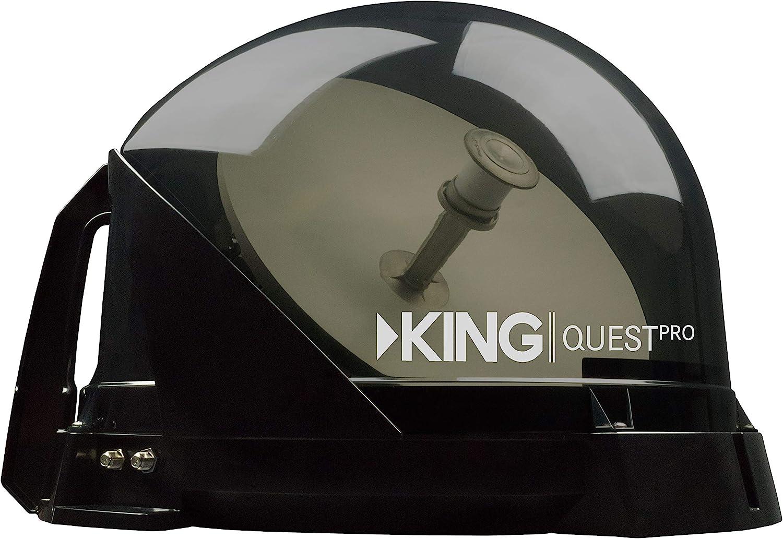 KING vq4800 Quest Pro portátil/Montaje en Techo Antena de TV por satélite (para Uso con DirecTV)