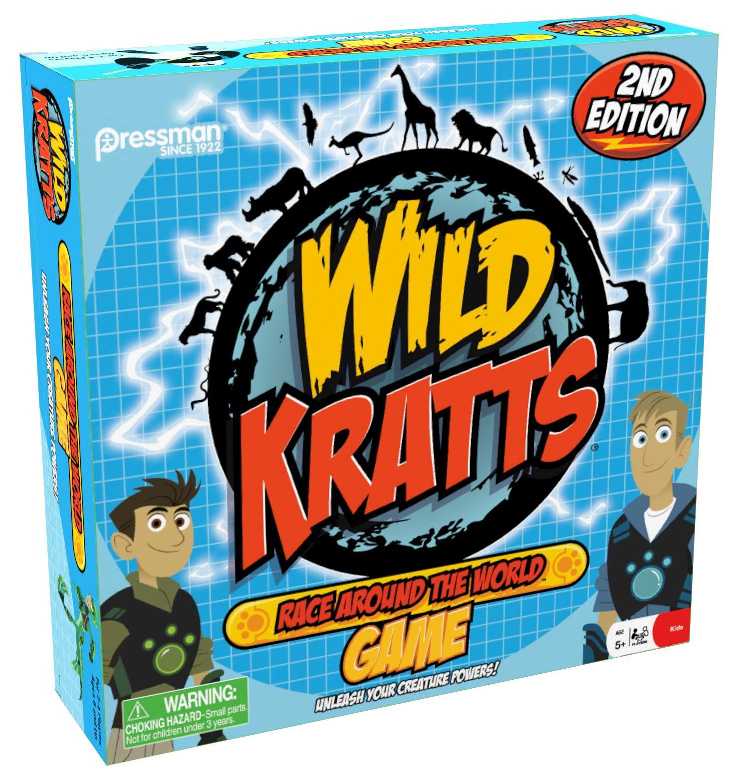 Wild Kratts Pop N Race Pressman Toys 4082-06