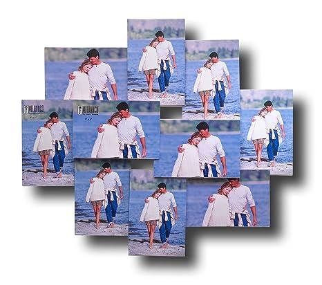Amazon.com - Melannco 10 Opening Acrylic Collage Frame -