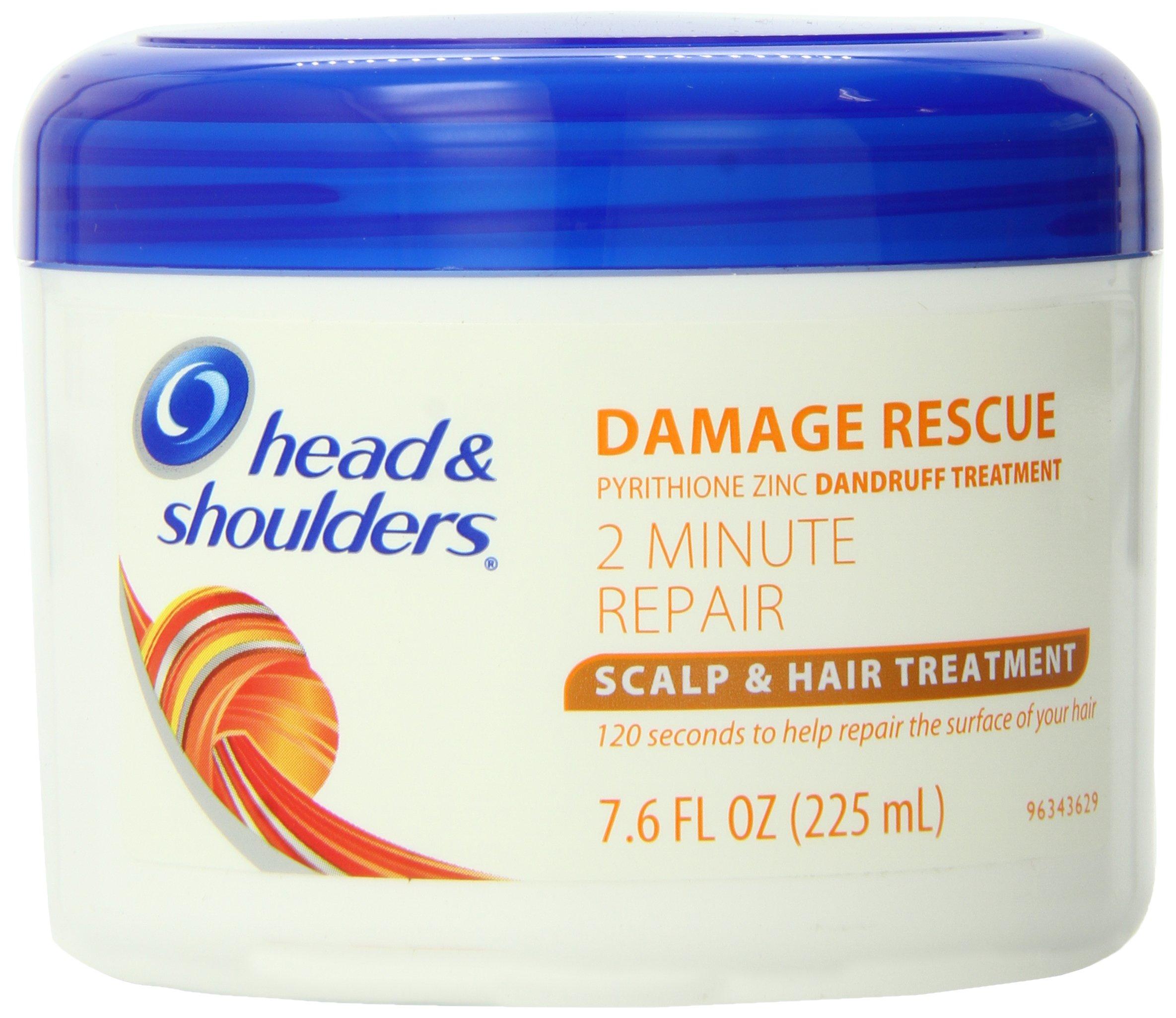 Head and Shoulders Damage Rescue 2 Minute Repair Scalp & Hair Treatment 7.6 Fl Oz