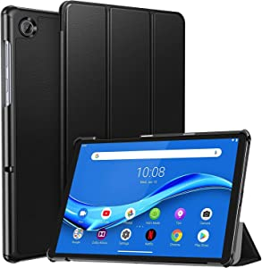 """Ztotop Case for Lenovo Tab M10 Plus, Ultra Slim Lightweight Trifold Stand Cover with Auto Sleep/Wake for Lenovo Tab M10 Plus 10.3"""" FHD Android Tablet TB-X606F / TB-X606X, Black"""
