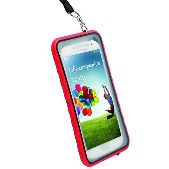 best loved 5f3bf 53f57 Krusell 95403 SEaLABox 3XL Waterproof Mobile Case for iPhone 6/Galaxy  S4/Galaxy S5/Xperia Z1 Compact and Other Phones with Up to 4.8-In Screen-Red