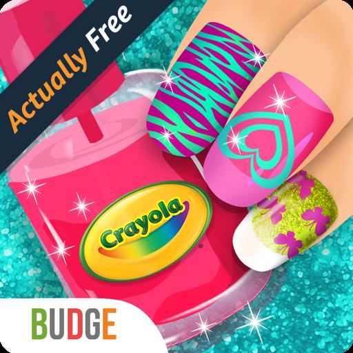Crayola Nail Party – A Nail Salon Experience - Underground (Gloss Spa Polish)