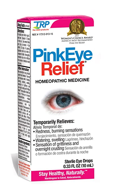 TRP Company Eye Relief, Pink, 0.33 Ounce