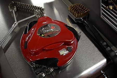 Grillbot GBU101 Grillreinigungsroboter rot