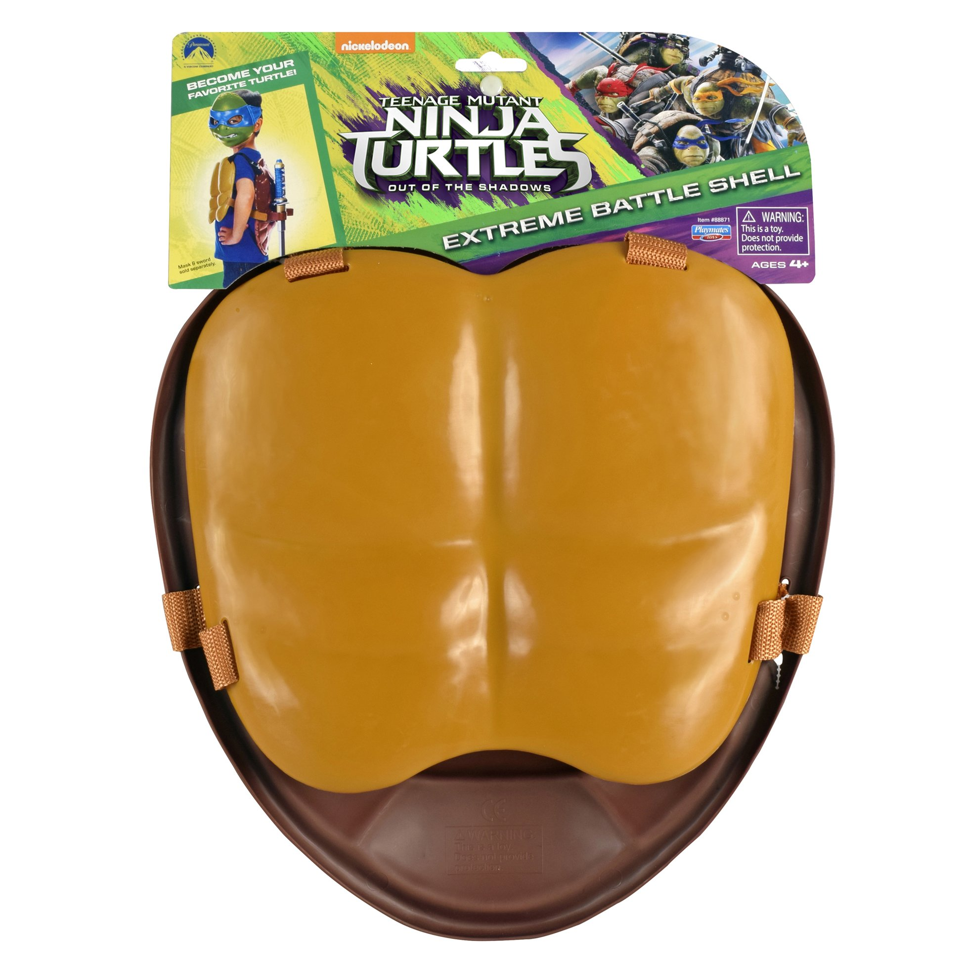 Teenage Mutant Ninja Turtles Movie 2 Out Of The Shadows Front and Back Roleplay Shell by Teenage Mutant Ninja Turtles