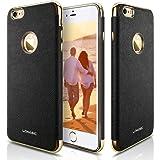 iPhone6 & iPhone6s ケース, LOHASIC iPhone 6s ケース レザー「メッキ加工&肌のような質感」薄型 かっこいい シンプル ソフト メンズ レディース 耐衝撃 アイフォン6s & 6ケース カバー