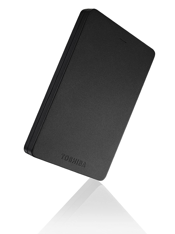 Toshiba Canvio Alu - Disco duro externo de 500 GB (USB 3.0, 2.5