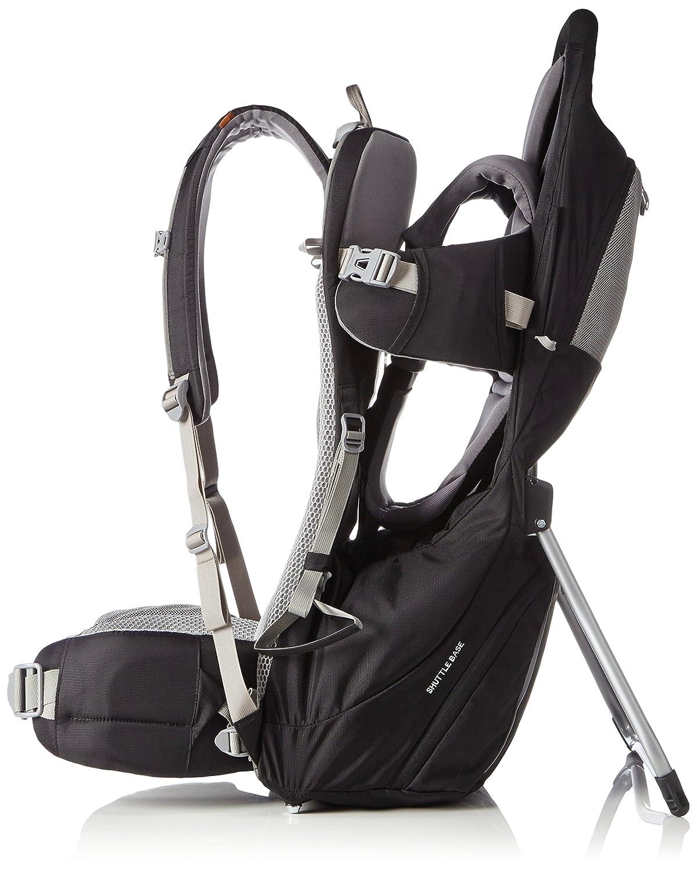 VAUDE Shuttle Base Porte-bébé léger pour la randonnée Mixte Adulte, Black   Amazon.fr  Sports et Loisirs 972ca83f7d2