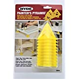 2-PACK - Painter's Pyramid Stands, Yellow