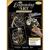 Royal and Langnickel Engraving Art 3 Design Value Pack, Gold