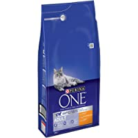 Purina ONE Bifensis Adult Dry Cat Food, Chicken and Whole Grains, 6kg