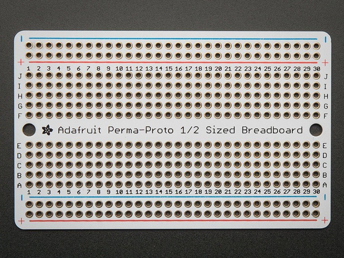 Adafruit Perma-Proto Half Breadboard PCB (1 piece)