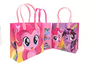 My Little Pony Character 12 Premium Quality Party Favor Reusable Goodie Small Gift Bags