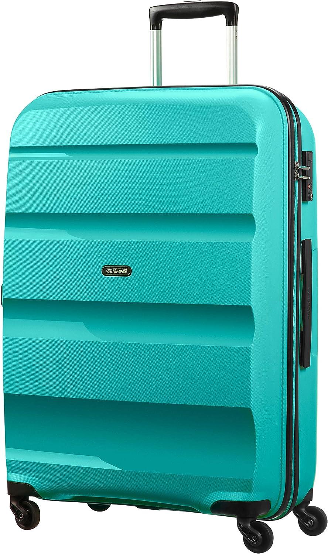 American Tourister - Bon Air - Spinner Maleta 75 cm, 91 L, Azul (Deep Turquoise)