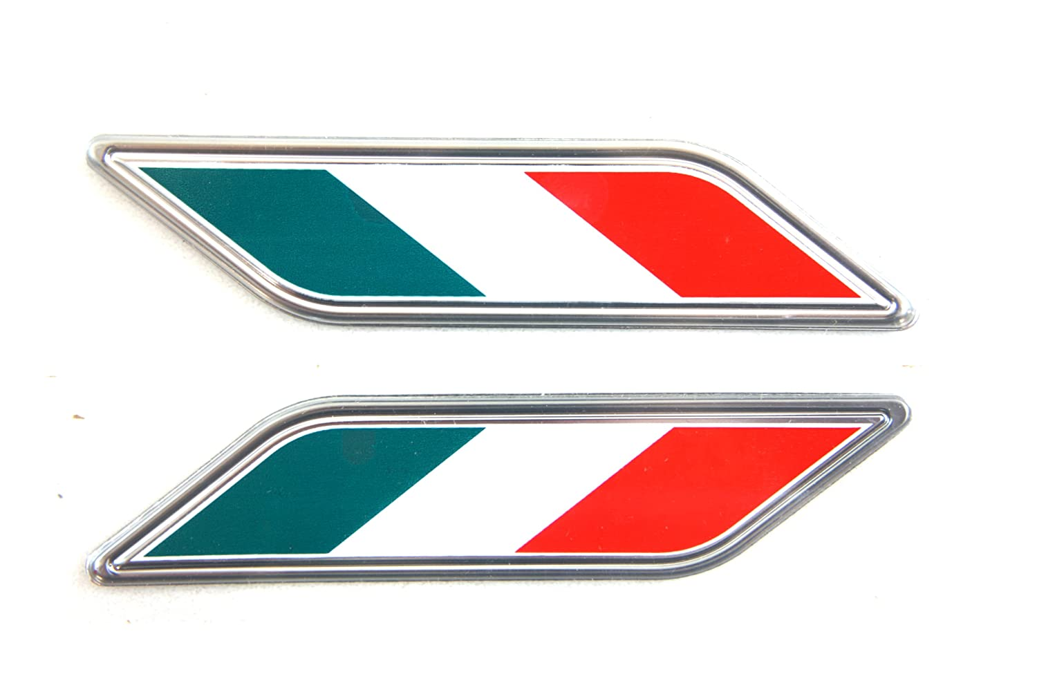 Genuine Fiat Accessories 82212879 Italy or Mexico Flag Colors Fender Badge for Fiat 500//500C