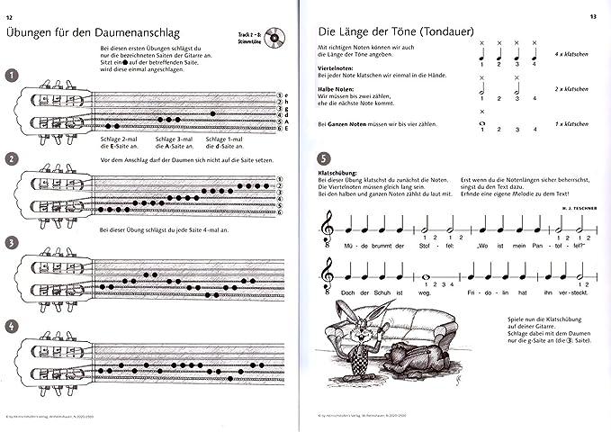Fridolin banda 1 – Guitarra Colegio para niños (aproximadamente a ...