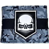 NEW OFFICIAL CALL OF DUTY FREEDOM SILVER STAR GREEN ID /& CARD BI-FOLD WALLET