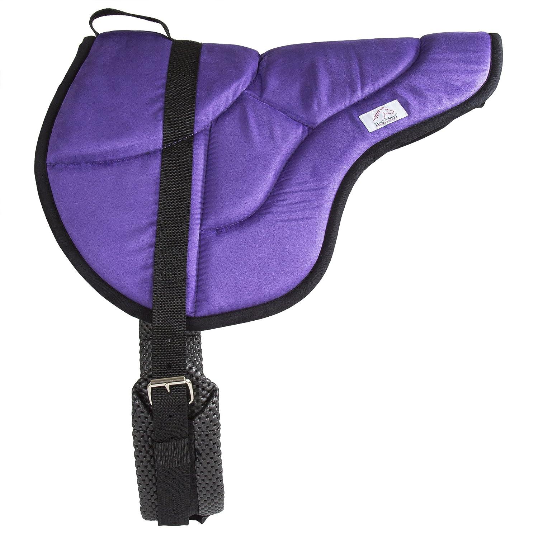acquista online oggi Best Friend Eastern Style Bareback Saddle Pad, BF015PL, viola viola viola nero, Cavallo  qualità autentica
