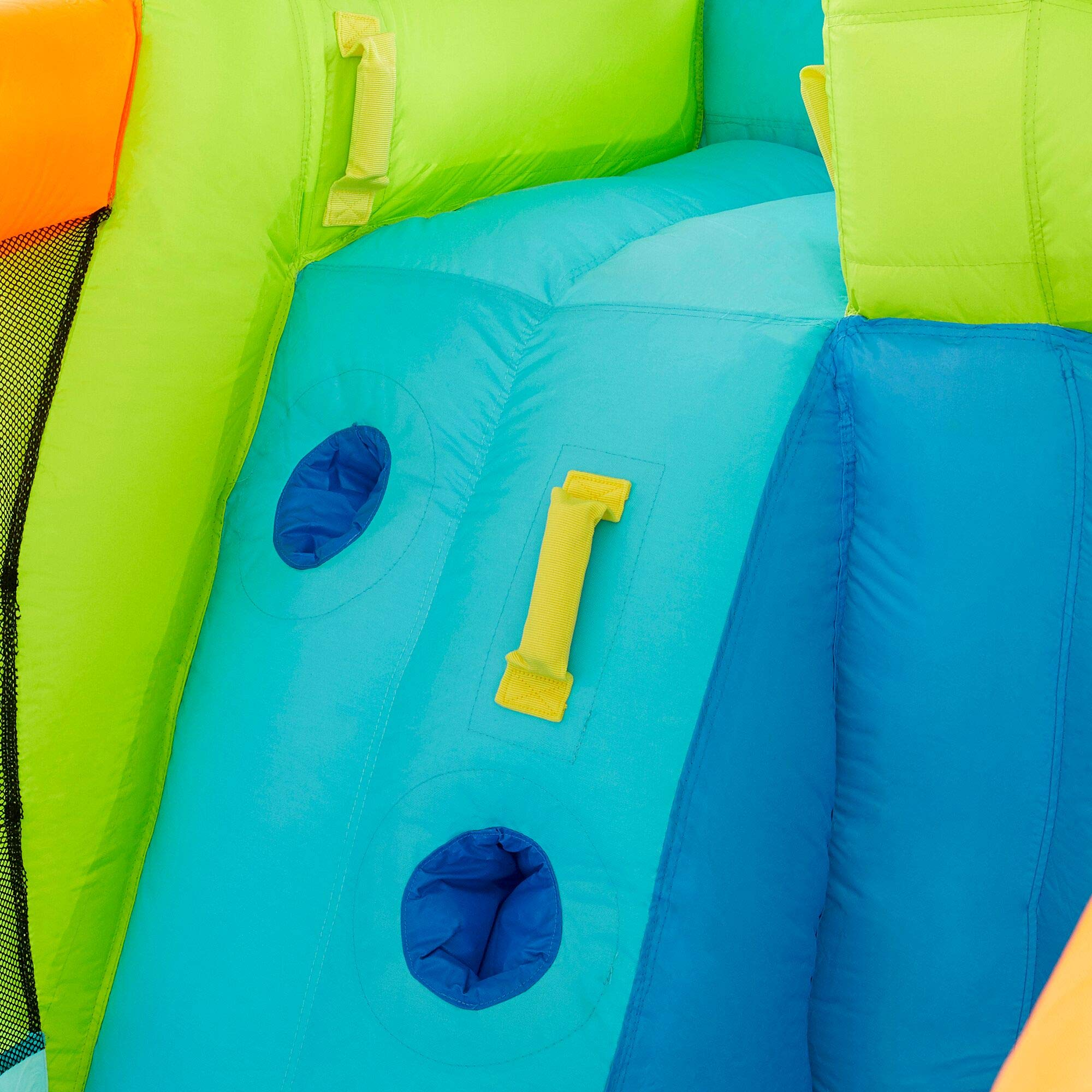Riptide Triple Fun Inflatable PVC Water Park with 3 Slides & Obstacle Course by Riptide (Image #8)