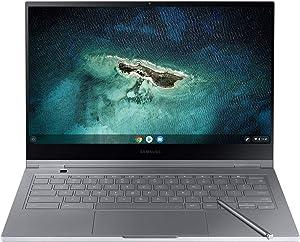 "Samsung Galaxy Chromebook 13.3"" UHD AMOLED - HD Intel Core I-5 Processor (256GB Storage, 8GB RAM) - 2020 Model - US Warranty - Mercury Gray - XE930QCA-K02US"