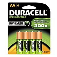 Duracell Rechargeable Long Life AA Batteries