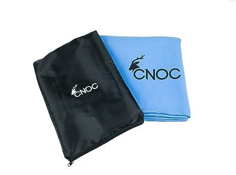 CNOC Tolla de Microfibra Grande XXL 180x90cm | Toallas de Microfibra | Toalla de Microfibra compacta | Toalla Microfibra alpinista, Trekking, Outdoor, ...