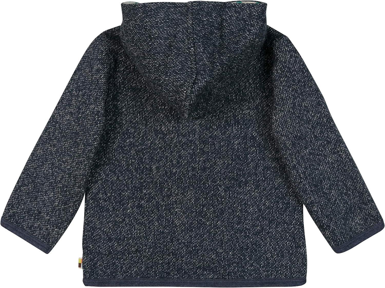 Gots Zertifiziert Sudadera para Beb/és loud proud Jacke In Melange Strick Aus Bio Baumwolle