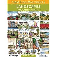 Kanaviçe Motif Serisi 5 - Manzaralar: 50 Yeni Kanaviçe Modeli