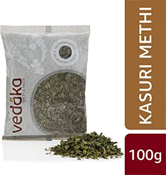 Amazon Brand - Vedaka Kasuri Methi, 100g