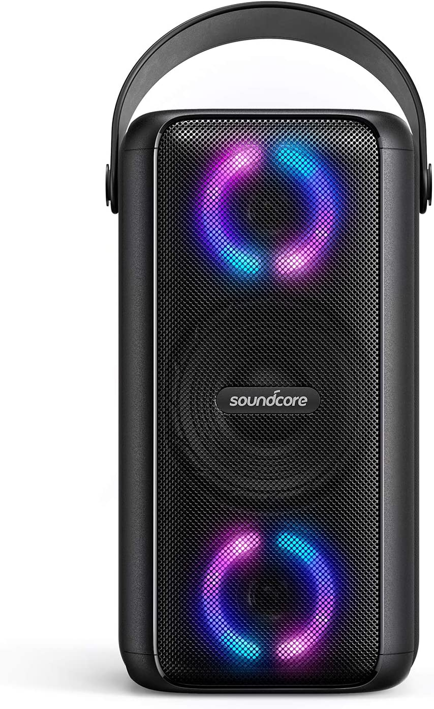 Soundcore Trance Bluetooth Speaker, Outdoor Bluetooth Speaker with 10 Hour  Playtime, BassUp Technology, Huge 10dB Sound, LED Lights, Soundcore App,