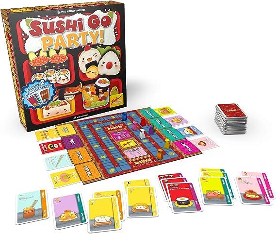 Zoch 601105114 Sushi Go Party. Versión alemana: Amazon.es: Juguetes y juegos