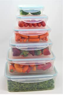 a4bb211f2730 Amazon.com - Click-n-Lock Airtight Food Storage Containers ...