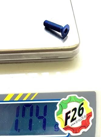 F26 Alu M6 Senkkopfschraube DIN 7991 7075