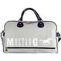 Mustang Dayton Justin Travelbag Shz - Bolsa de Viaje para Hombre, Color Azul, Talla 20x32x53 cm (B x H x T)
