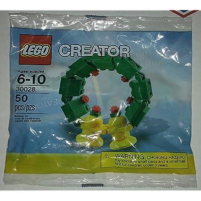 LEGO Creator Mini Figure Set #30028 Christmas Wreath Bagged: Toys & Games