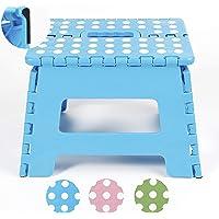 NATUMO Taburete Taburete Plegable Taburete Plegable también para Viaje Plegable Plegable para niños Adultos plástico