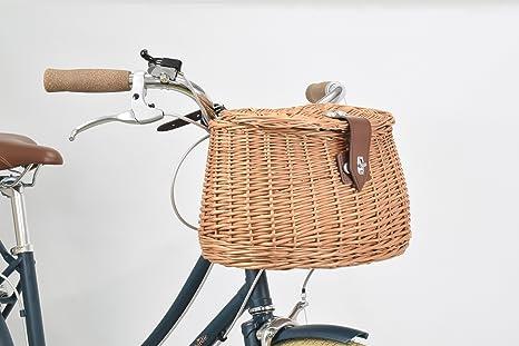 Bobbin Woodland cesta de bicicleta ((Natural): Amazon.es: Deportes ...