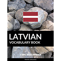 Latvian Vocabulary Book: A Topic Based Approach