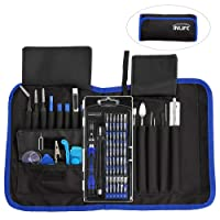 81 in 1 Precision Screwdriver InLife Electronics Repair Tools Kit, Set with Magnetic Driver Kit, Torx Screwdriver Kit for Repairing Cell Phone, iPad, Tablet, PC, MacBook, Watch and More Devices