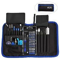 INLIFE Precision Screwdriver Set, Repair Tool Kit, 81 in 1 Magnetic Driver Kit, Screwdriver Kit for Phone, Laptop, Tablet, Xbox, PC, Watch, Camera