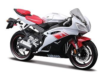 Yamaha YZF R6 Weiss Rot 118