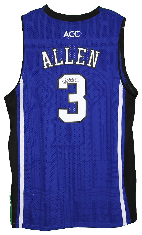 1720ff5c5137 Grayson Allen Duke Blue Devils Signed Autographed Blue  3 Custom Jersey at  Amazon s Sports Collectibles Store