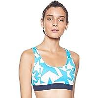 Adidas Women's Don't Rest Iteration Bra Sports Bras, White (Raw White), Medium (DT2691)