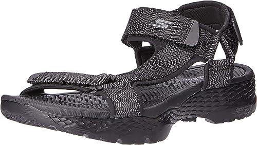 Skechers Performance Men's On The Go 600 55352 Flip Flop, Black, 14 M US