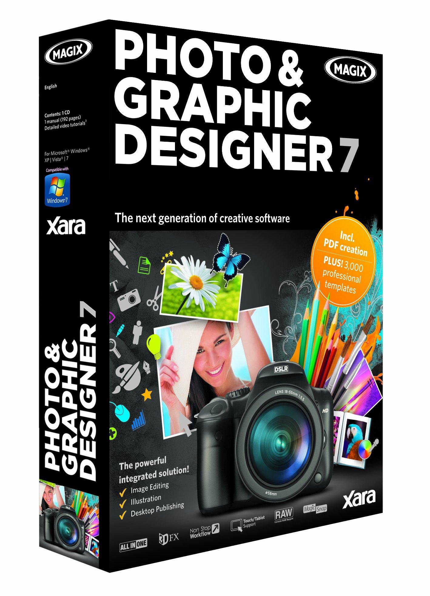 Magix Photo & Graphic Designer 7 Pc Disc 6