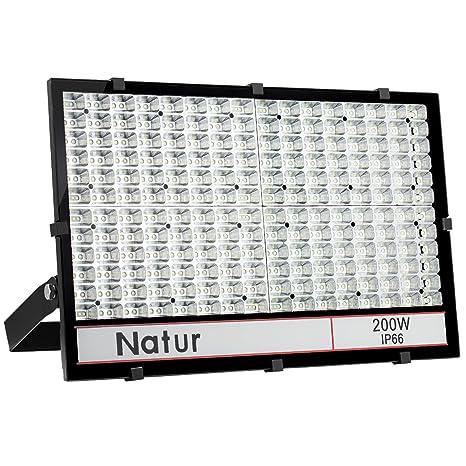 200W Ultra dünn LED Fluter Flutlicht Außen Strahler Scheinwerfer IP65 Kaltweiß